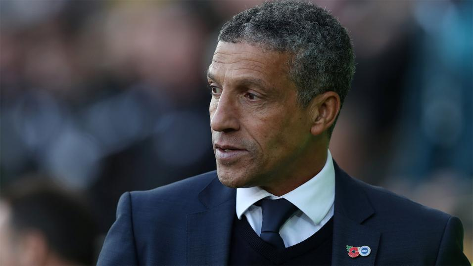 Chris Hughton's side defeated West Brom at home this season
