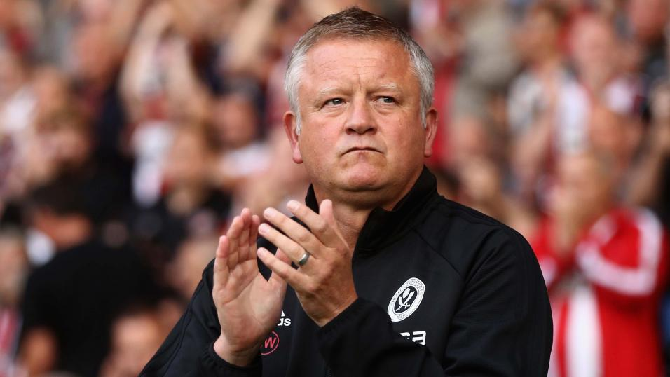 Chris Wilder Sheffield United boss
