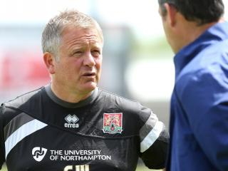 Chris Wilder says his Northampton players can pull off a shock if they believe in themselves