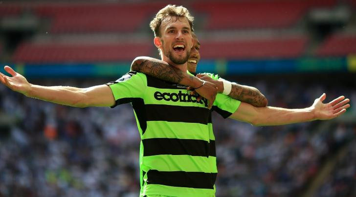 Christian Doidge, the Forest Green Rovers striker