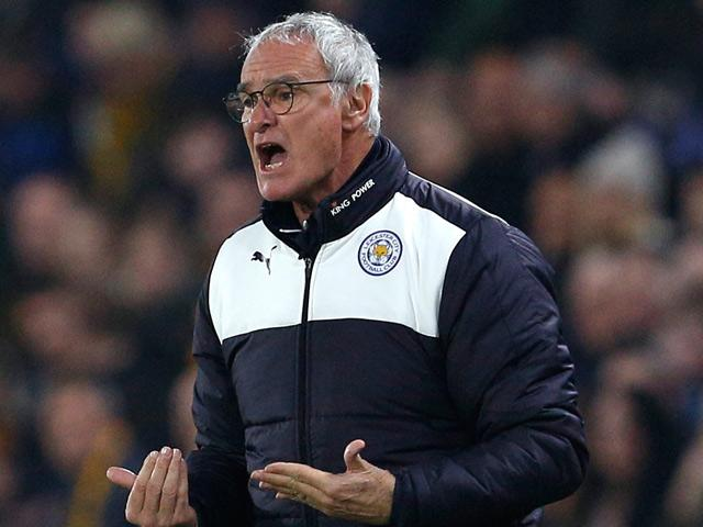 Claudio Ranieri's men remain at the top of the table