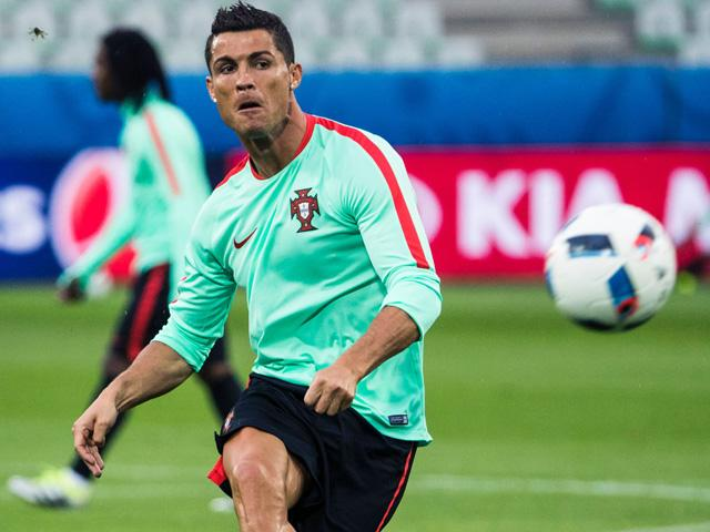 Cristiano Ronaldo has his sights set on another trophy