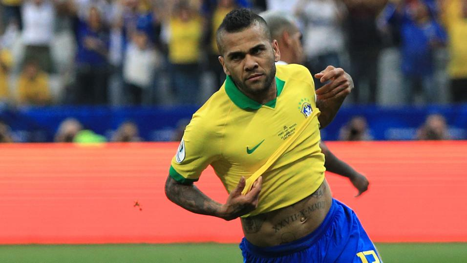 Dani Alves Brazil player