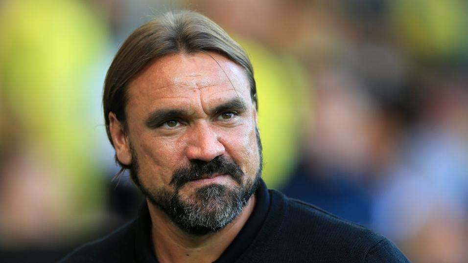 Norwich City manager Daniel Farke.