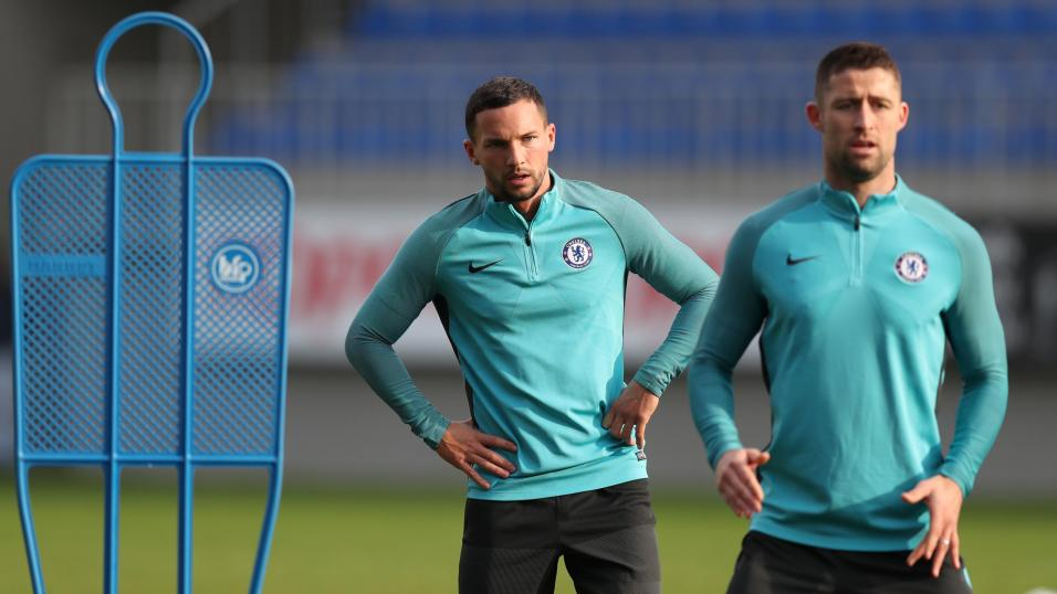 Danny Drinkwater and Gary Cahill