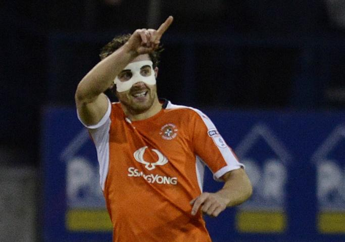 Luton's Danny Hylton has 21 goals in League Two this season