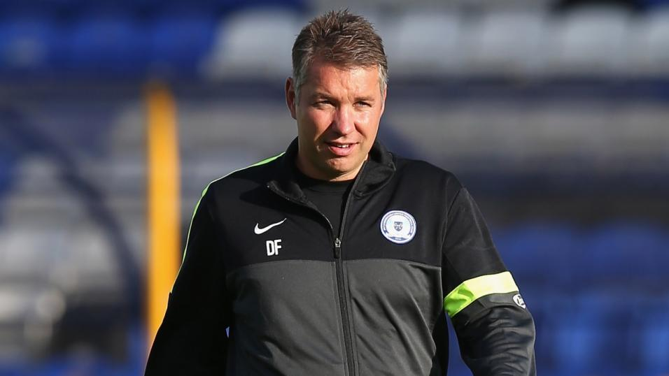 Peterborough United manager - Darren Ferguson