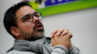 Huddersfield manager David Wagner.