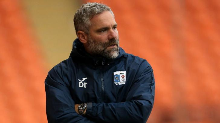 Barrow manager David Dunn