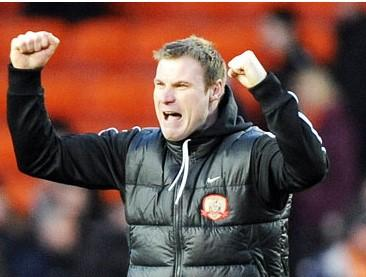 David Flitcroft had an inauspicious start to management but seems to be proving himself at Bury