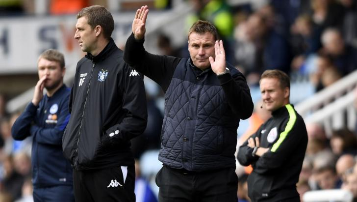 Mansfield manager Danny Flitcroft