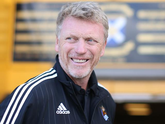 Will David Moyes still be smiling after Sunderland's match with Hull?