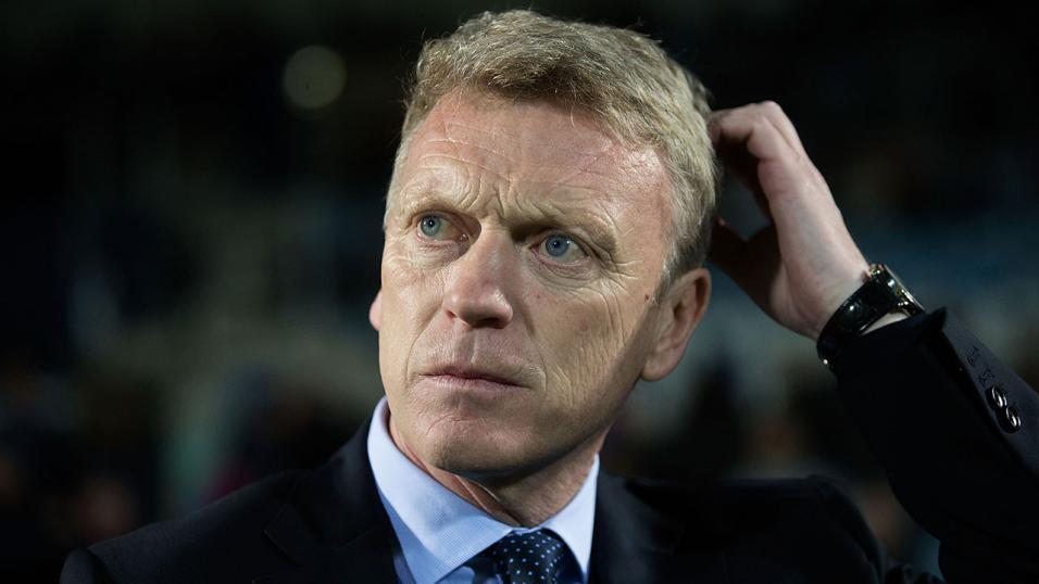 West Ham manager David Moyes.