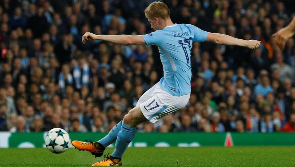 Kevin de Bruyne of Manchester City