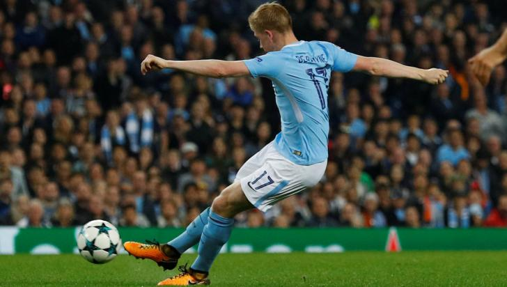 Man City midfielder Kevin De Bruyne