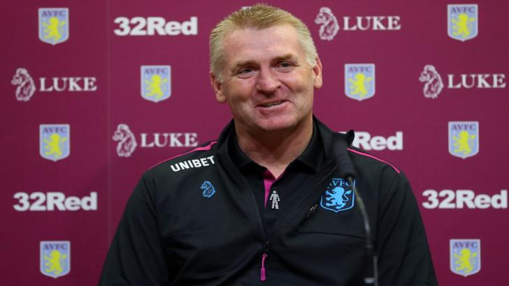 Aston Villa manager - Dean Smith