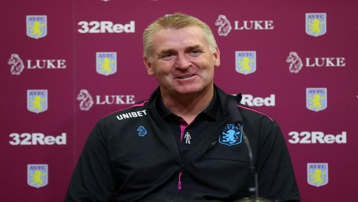 There could be more frustration for Villa boss Dean Smith