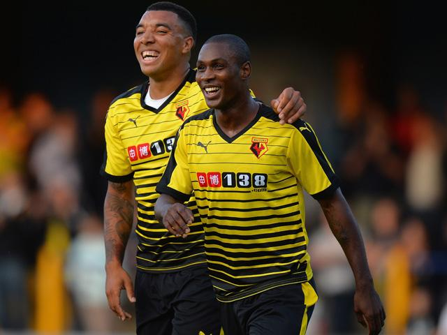 At least one of Troy Deeney or Odion Ighalo have netted in six of the last seven Watford home games