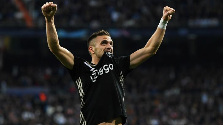 Ajax forward Dusan Tadic