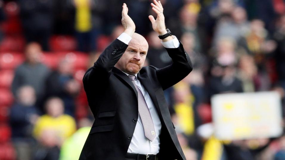 Dyche delighted as Burnley defeat Leicester
