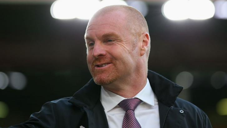 Burnley boss Sean Dyche can guide his team to a seventh away win