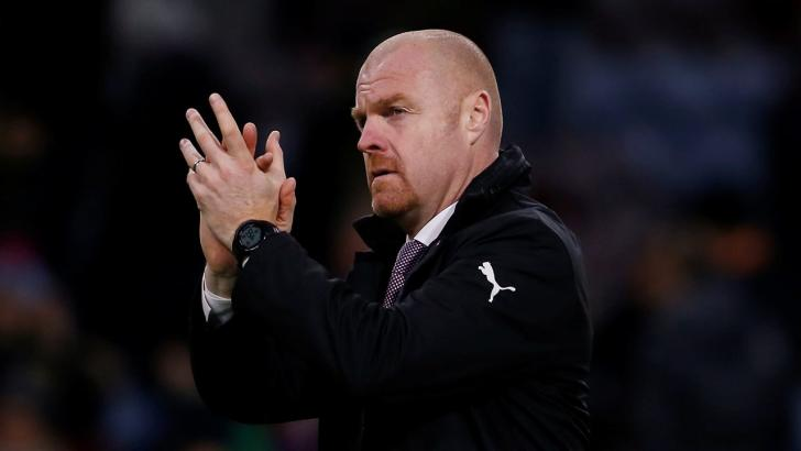 Burnley manager Sean Dyche.