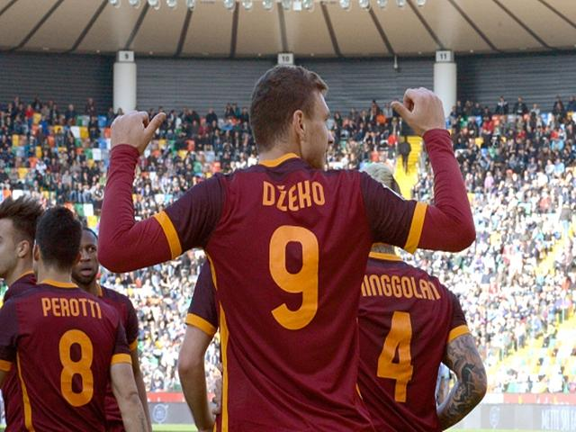 Walter is backing Edin Dzeko's Roma at Inter