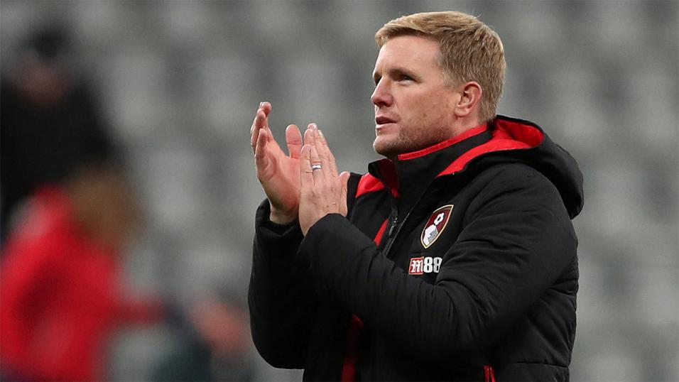 Bournemouth manager Eddie Howe.