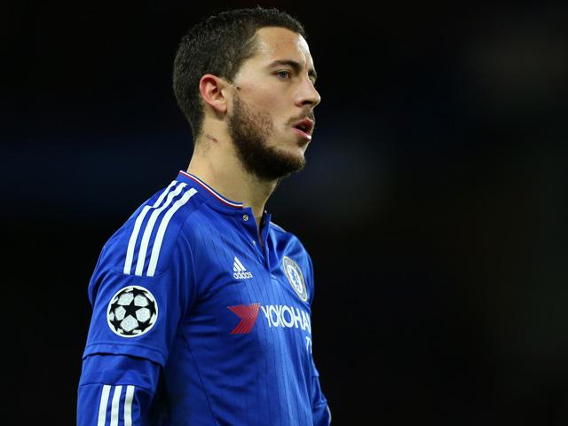Eden Hazard will fancy his chances in this game