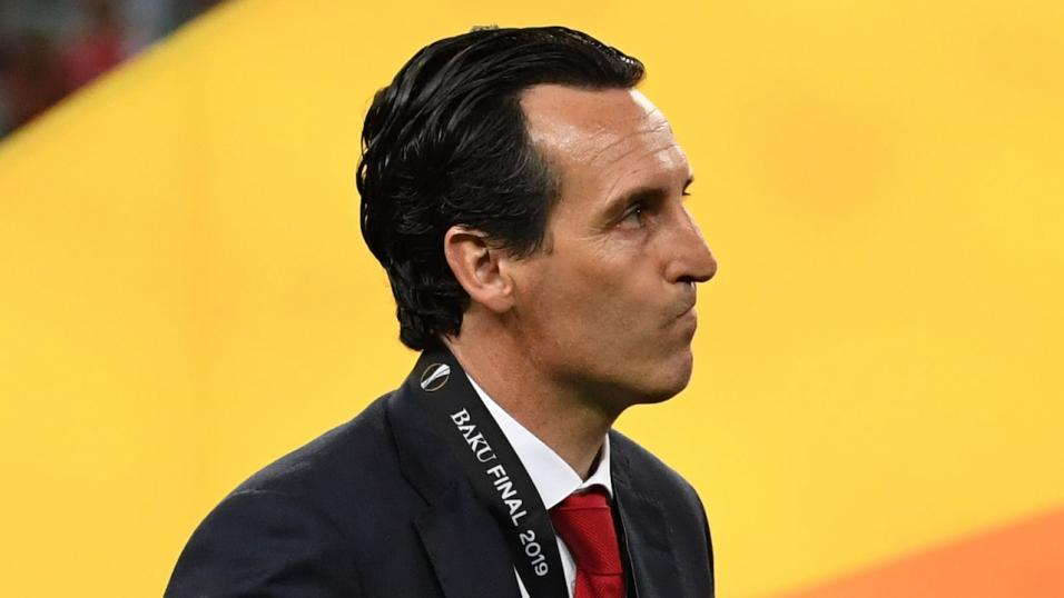 Unai Emery when he was Arsenal manager