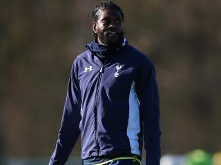 Emmanuel Adebayor is hoping to leave Tottenham for West Ham