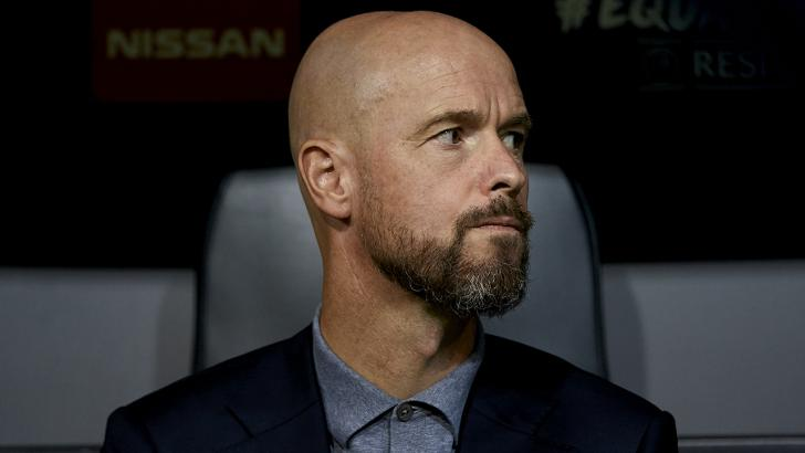 Ajax manager Erik ten Hag.