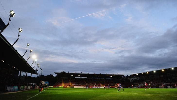 St James Park, Exeter City's stadium