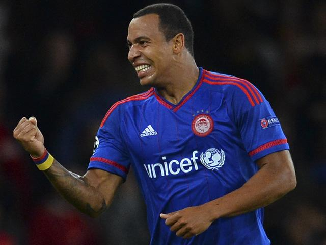 Felipe Pardo hasn't scored a league goal for Olympiakos yet, but has three in three in Europe