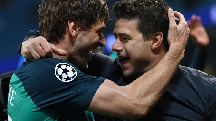 Fernando Llorente and Mauricio Pochettino