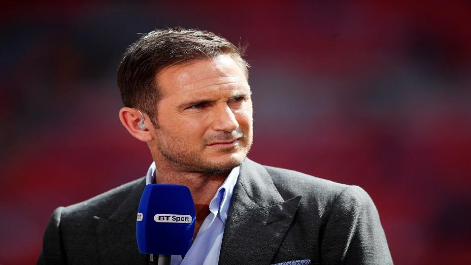 New Derby boss Frank Lampard