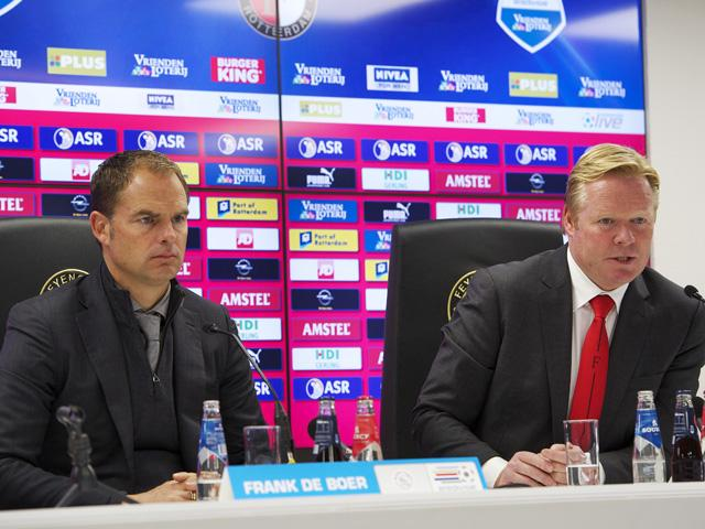 Frank de Boer and Ronald Koeman are both thought to be on the Everton shortlist to replace Roberto Martinez