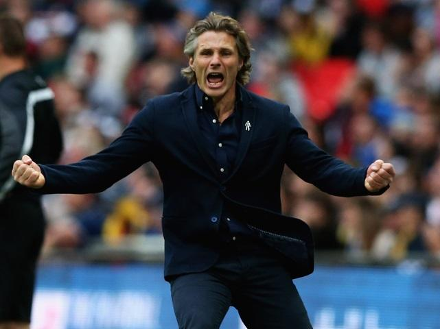 Wycombe boss Gareth Ainsworth is loving life with the Chairboys
