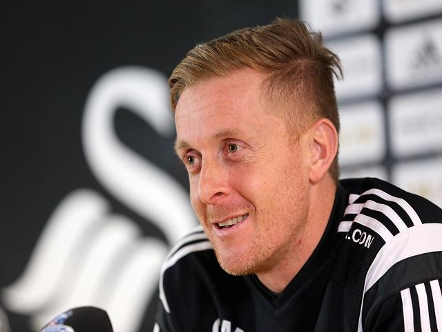 Will Garry Monk still be smiling after Swansea's match with Stoke?