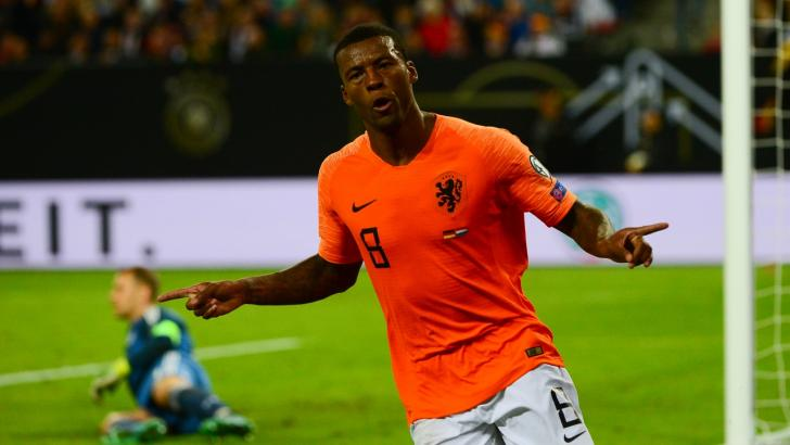 Gini Wijnaldum has been in good scoring form for his country