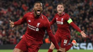 Georginio Wijnaldum scored a brace on an incredible night for Liverpool