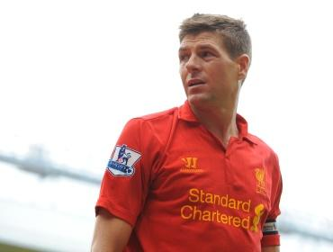 Steven Gerrard scored his 100th Premier League goal