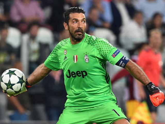 As if getting the better of Juve's defence wasn't hard enough, you've also got to beat Buffon.