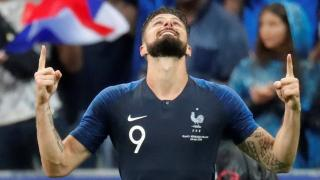 France striker - Olivier Giroud