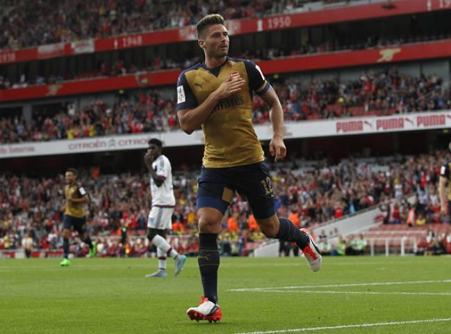 Olivier Giroud ended his goal drought with a midweek brace at Hull