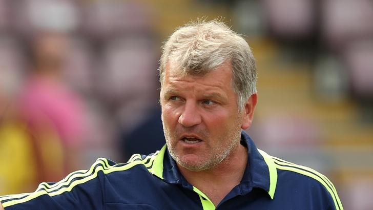 Glyn Hodges AFC Wimbledon manager