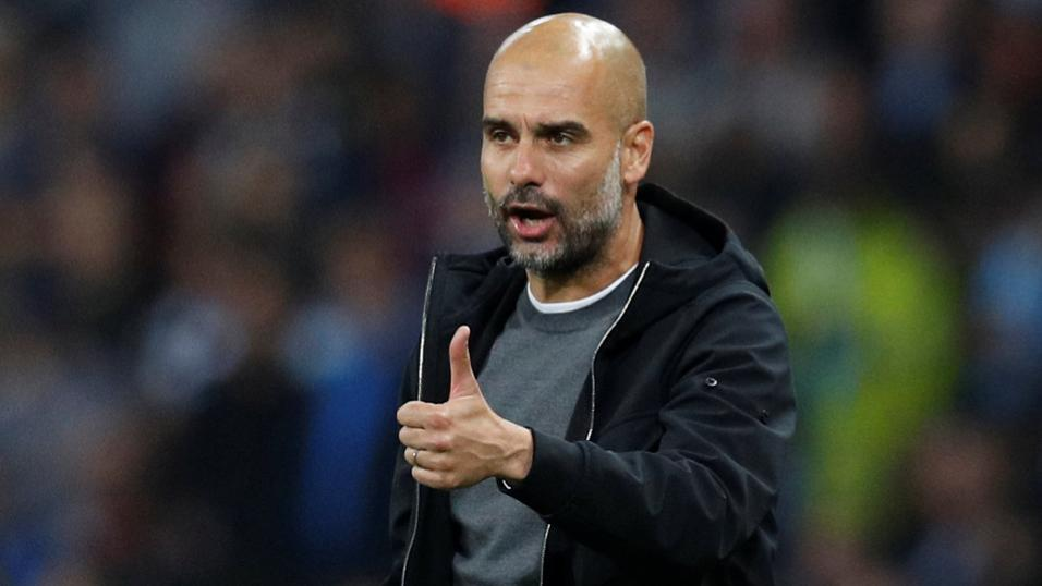 Will it be a thumbs up from Pep Guardiola when Manchester City play Stoke?
