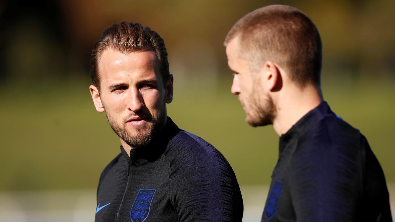 Harry Kane and Eric Dier