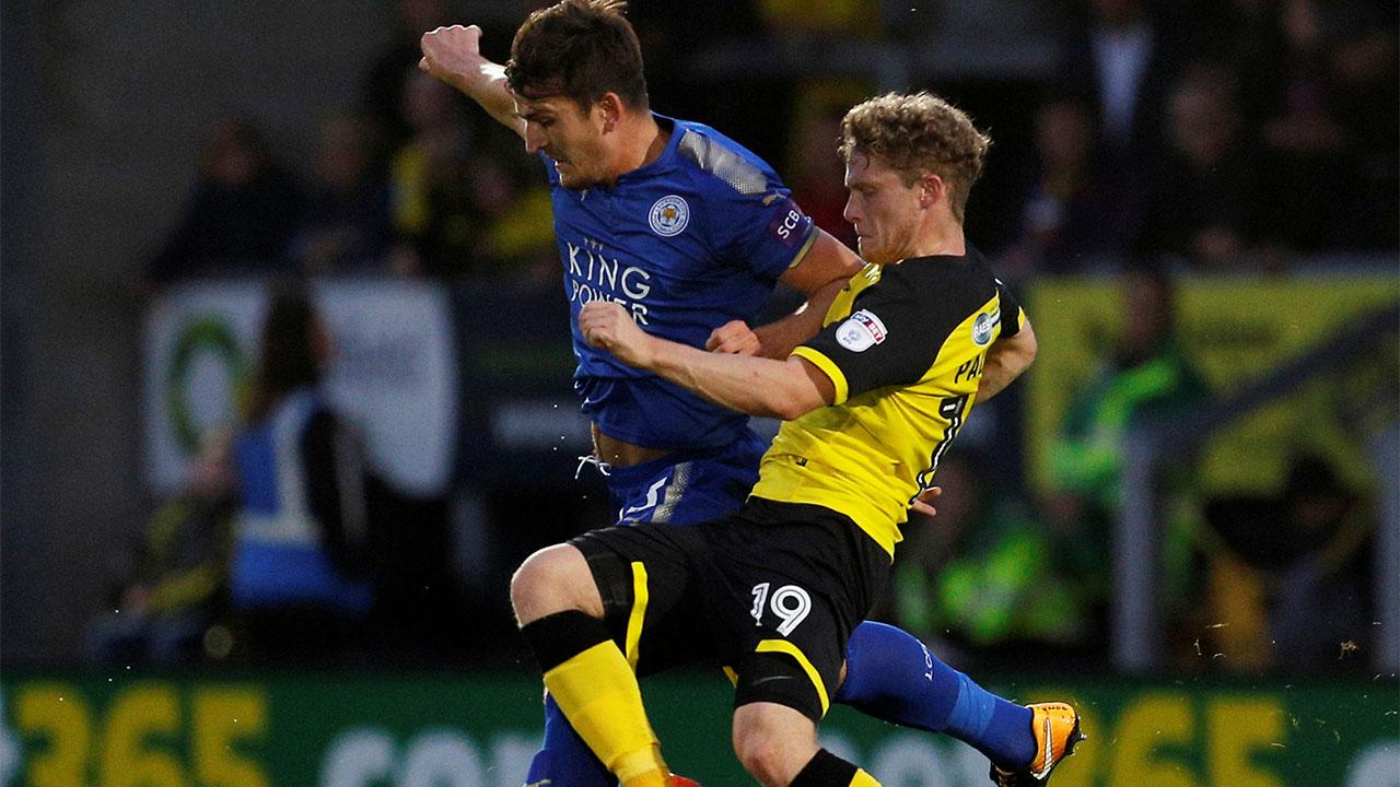 Leicester City defender Harry Maguire