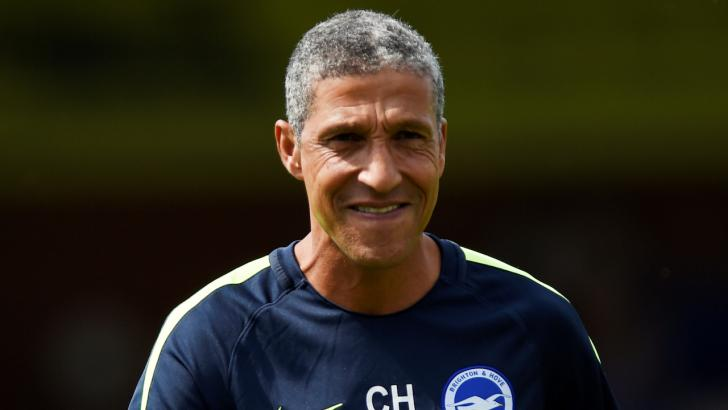 Brighton manager - Chris Hughton